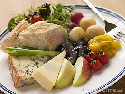 Stilton and Mature Cheddar Ploughman s