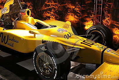 STINGER Indianapolis 500 Pole Day 2011 IMS 100 Editorial Stock Photo