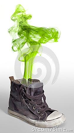 Free Stinky Sneaker Royalty Free Stock Image - 59330216