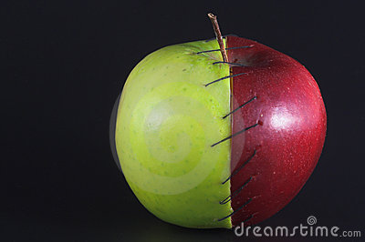 Stitched Apple
