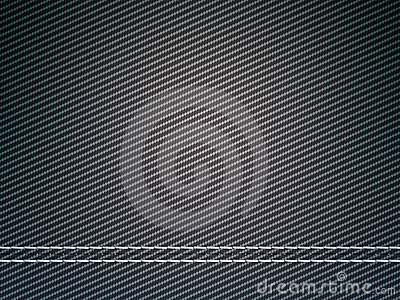 Stitched carbon fiber: Useful as texture
