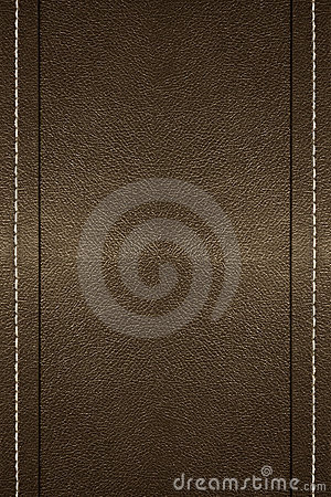 Free Stitched Leather Royalty Free Stock Photography - 2100077