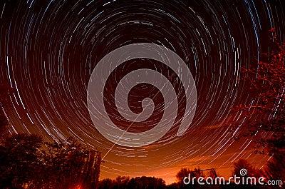 Stjärnatrails