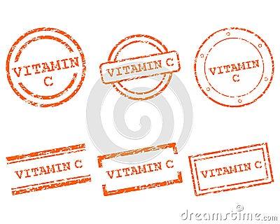 Stämplar för vitamin C