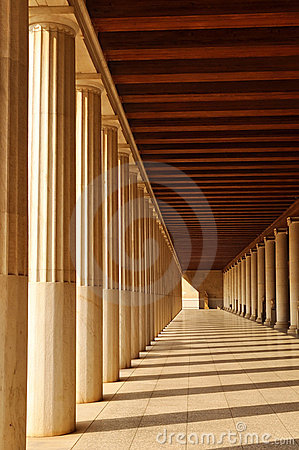 The Stoa of Attalos, Athena, Greece
