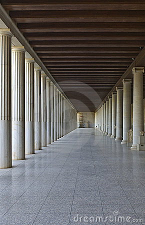 Stoa of Attalos at Athens, Greece