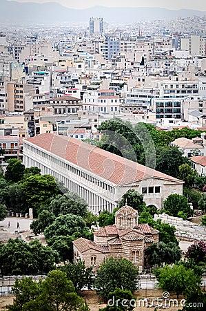 Stoa of Attalos, Athens Greece