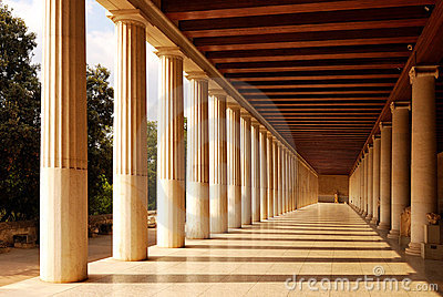 Stoa of Attalus at Athens, Greece