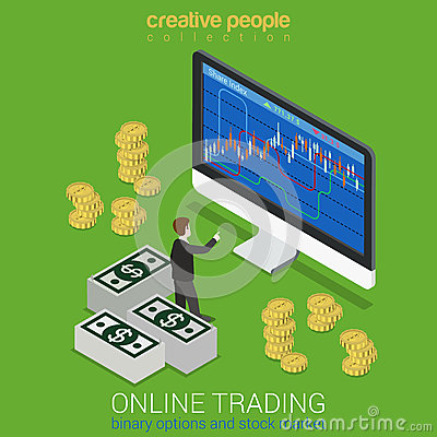 Online stock options