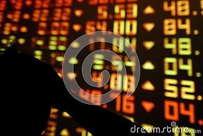 Stock Exchange Despair