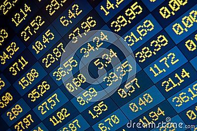 Stock exchange on-line
