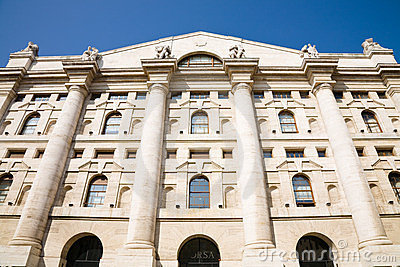 Stock Exchange, Milan Editorial Image