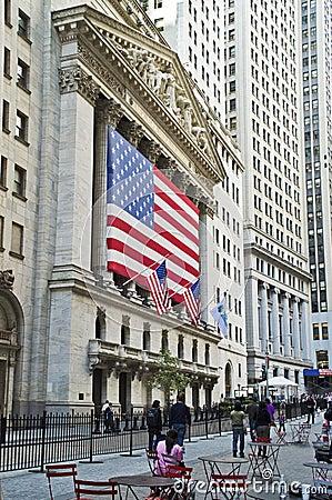 Stock Exchange View Editorial Photo