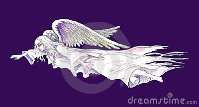 Stock illustration of Guardian Angel