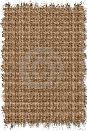 Stock Illustration of Old Burlap texture