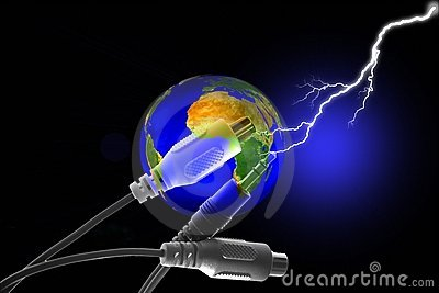 Stock Image of Earth Connection Concept