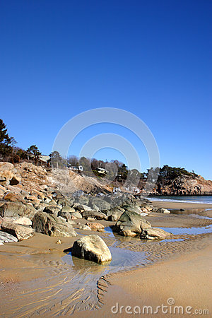 Free Stock Image Of Singing Beach, Massachusetts, USA Royalty Free Stock Image - 96427096