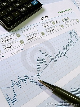 Free Stock Market Analysis Stock Image - 884911