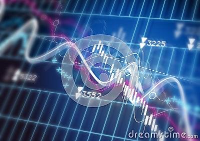 Stock Market Diagram