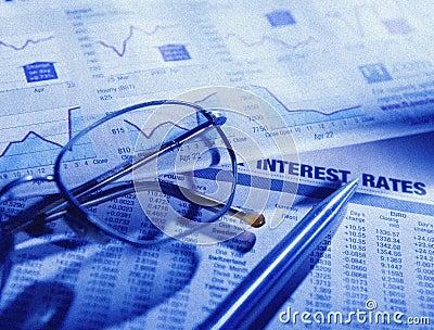 Stock market financial paper
