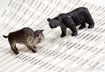 Stock Market Report Royalty Free Stock Images - Image: 1446809