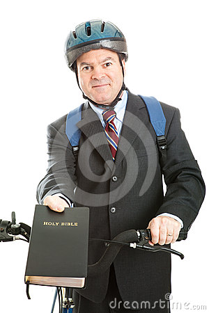 Stock Photo Of Christian Bicycle Missionary Stock Photos - Image: 24387393