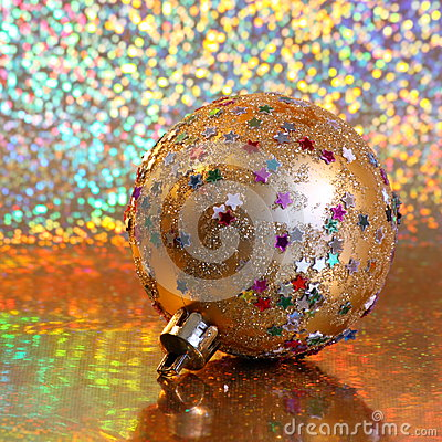 Stock Photo : Christmas Ball Ornament
