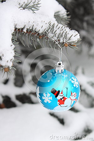 Stock Photo - Christmas Tree Ball Decoration