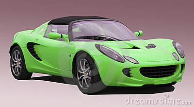 Stock Photo of Green Lotus