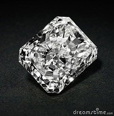 Free Stock Photo: Huge Diamond Royalty Free Stock Photo - 5653385