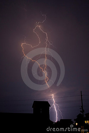 Stock Photo of Lightning
