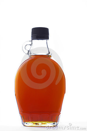 Stock photo of maple syrup