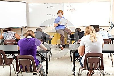 Stock Photo of Math Class