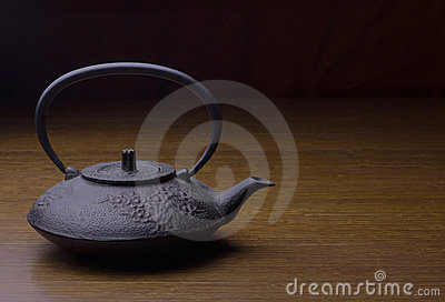 Stock photo of a tea pot