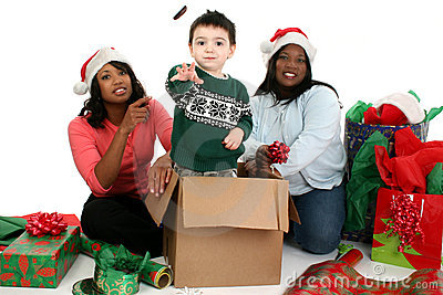 Stock Photography: Christmas Scene