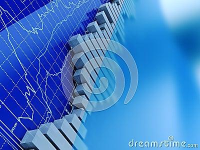 Stock trading graphs