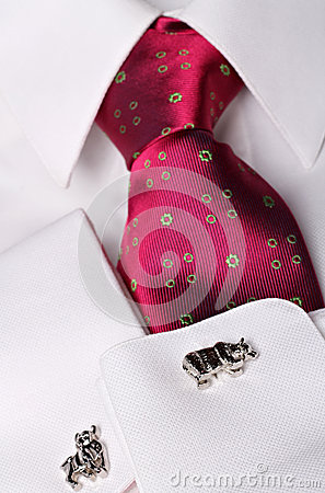 Stockbroker cuff links