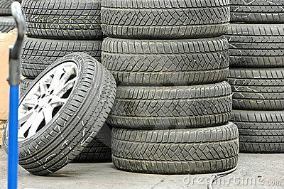 Stocked tires