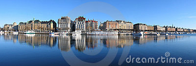 Stockholm. Big Panorama. Royalty Free Stock Images - Image: 550009