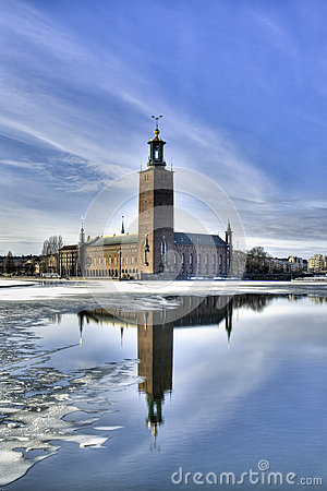 Stockholm City hall.