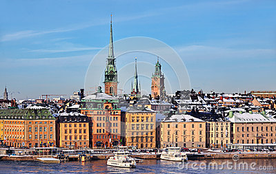 Stockholm City, Sweden Editorial Photography