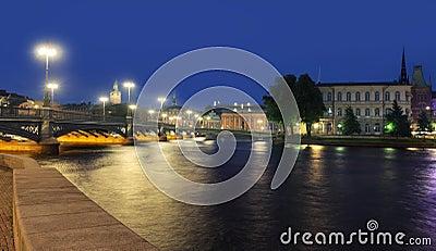 Stockholm Cityscape