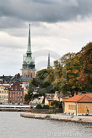 Stockholm in fall