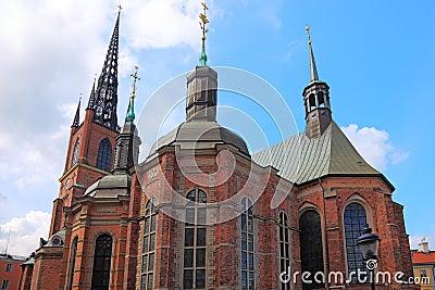 Stockholm historic church.