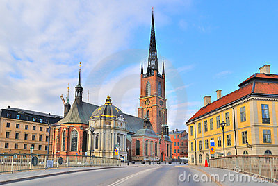 Stockholm. Knight's Church Stock Photography - Image: 23761072