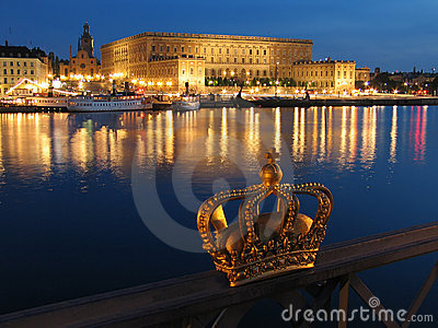 Stockholm pałac królewski