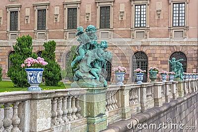 Stockholm Palace details