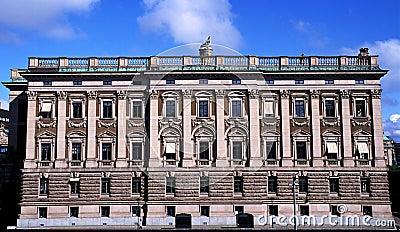 Stockholm Palace in Sweden