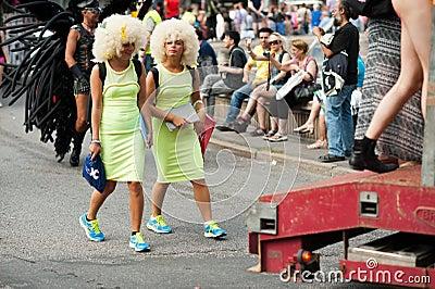 Stockholm Pride Parade 2012 Editorial Image
