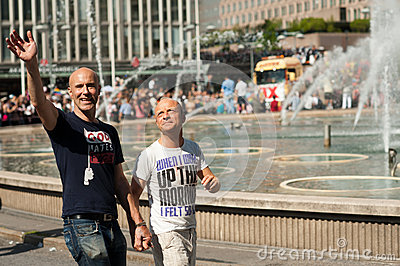 Stockholm Pride Parade 2012 Editorial Photography
